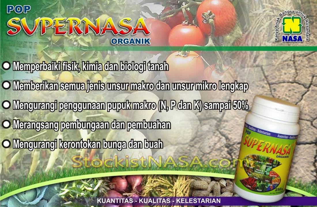 POP Supernasa Pupuk Organik Padat Natural Nusantara