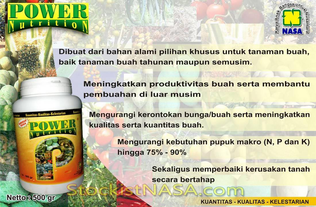 Gambar Power Nutrition Nasa Natural Nusantara