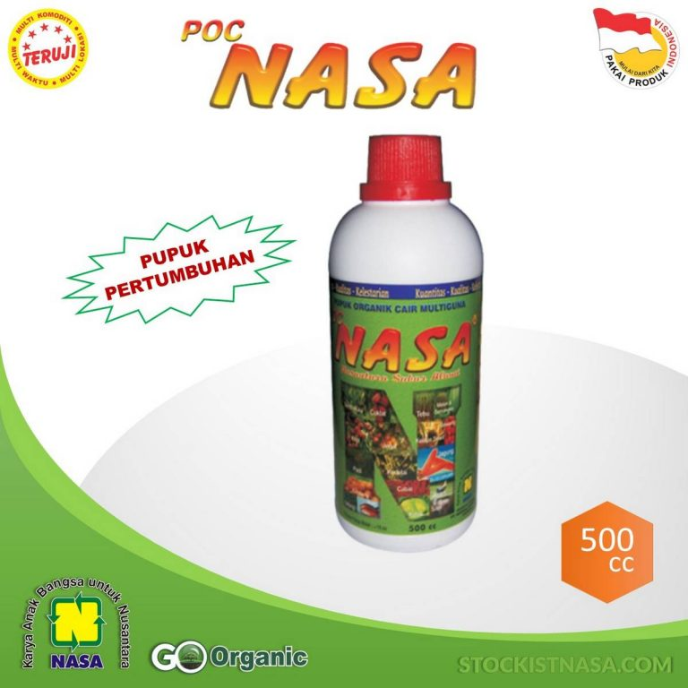 Pupuk Organik Cair POC Nasa Natural Nusantara