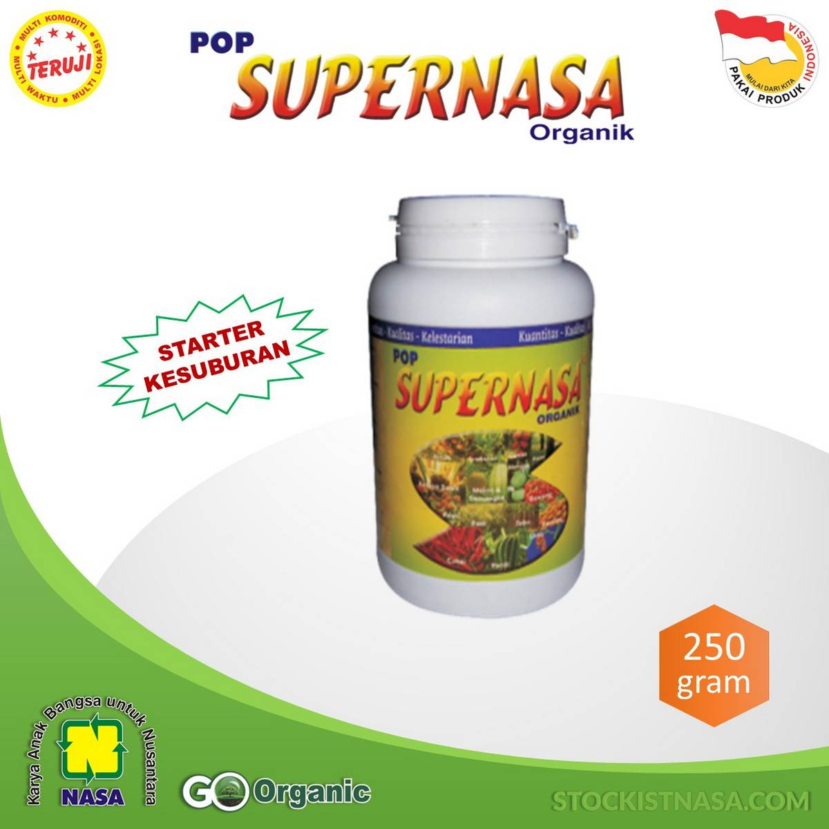 Pupuk Organik Padat POP Supernasa Natural Nusantara