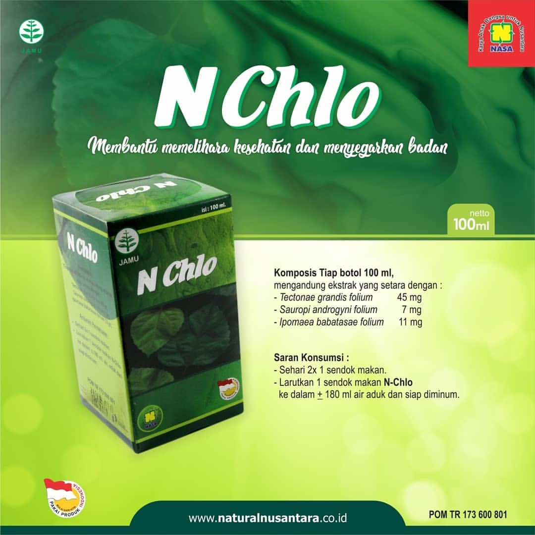N Chlo Natural Chlorophyllin Nasa