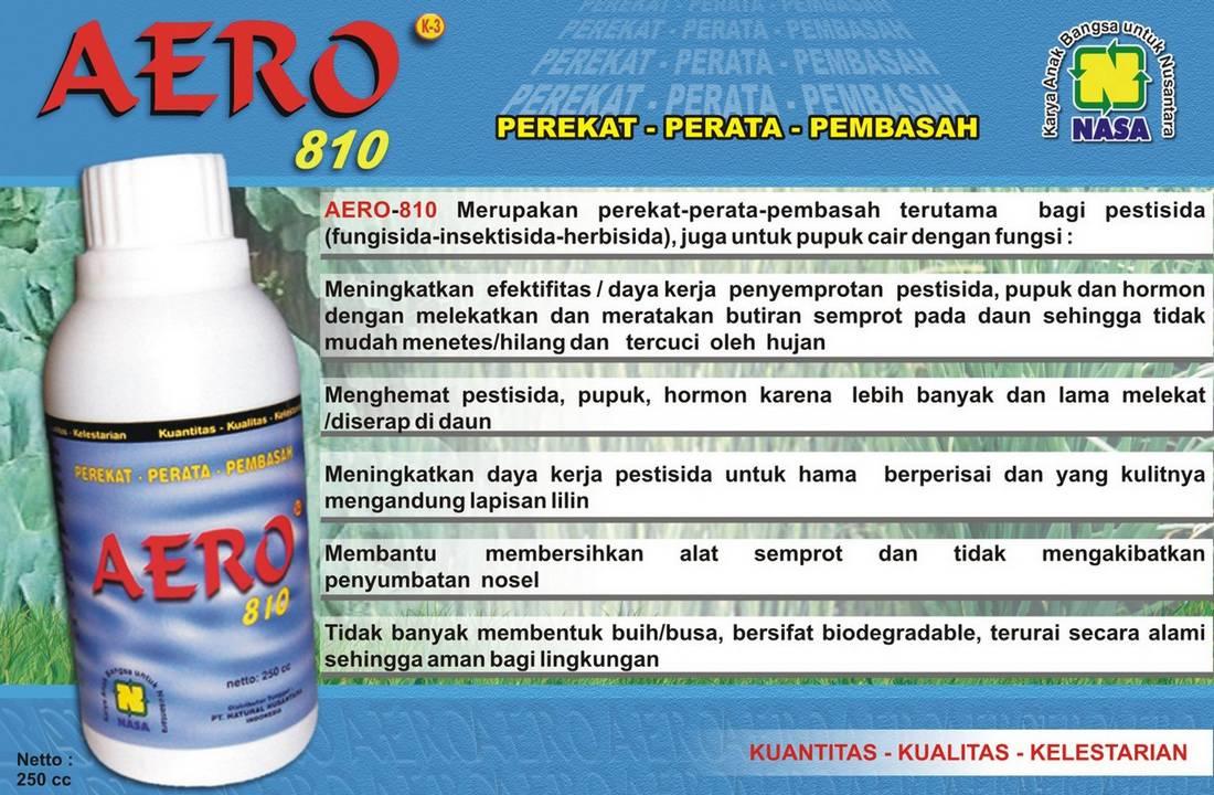 Gambar Brosur Aero 810 Nasa