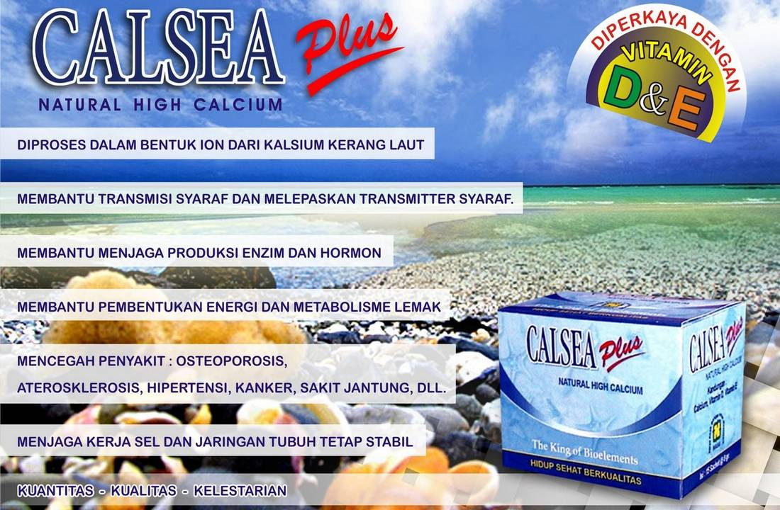 Gambar Natural Calsea Plus Nasa