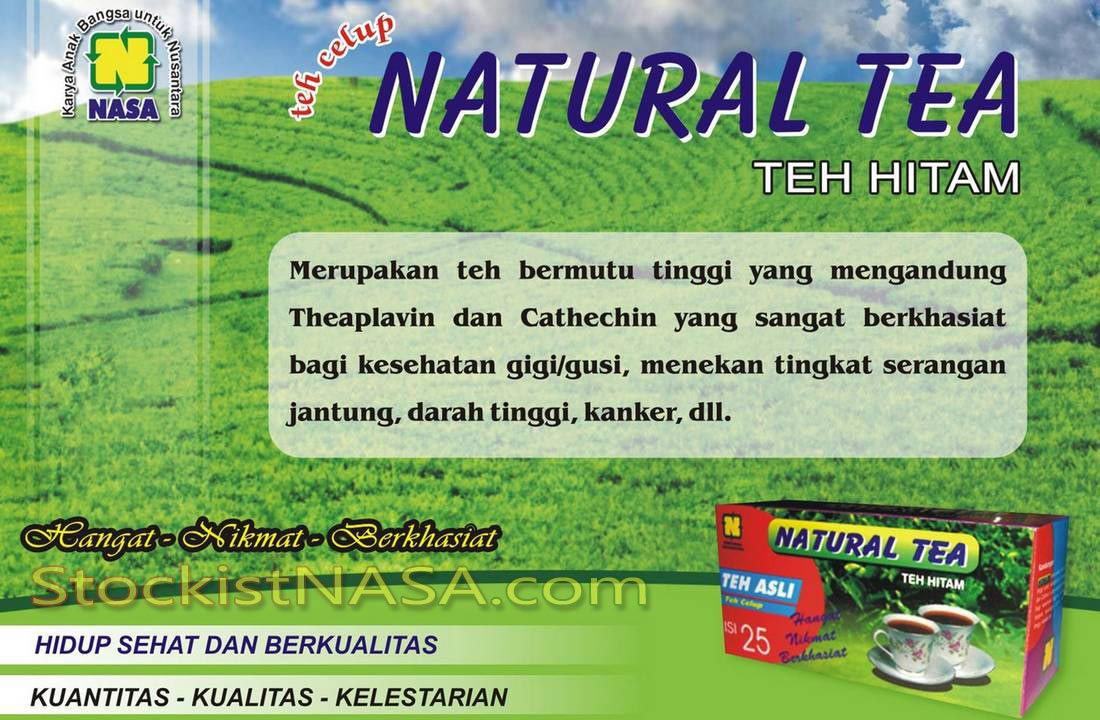 Gambar Natural Teh Celup Nasa