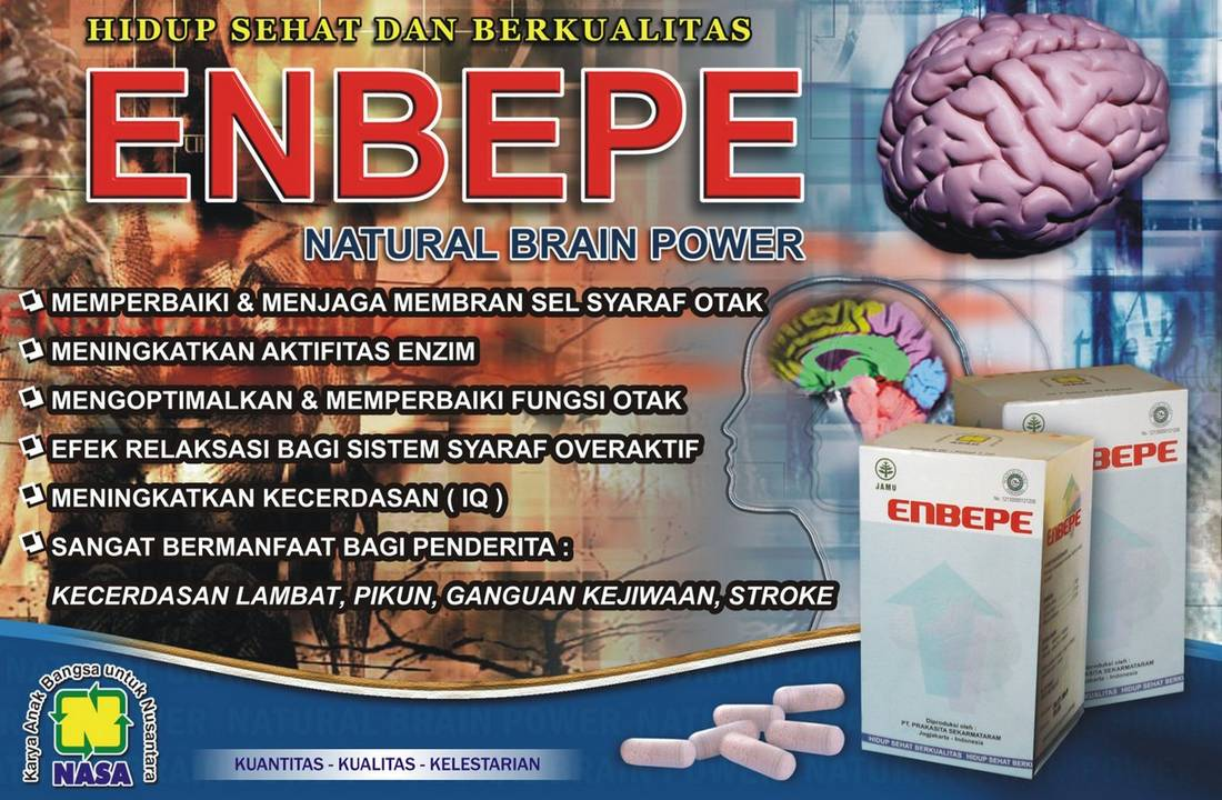 Gambar Natural Brain Power ENBEPE Nasa