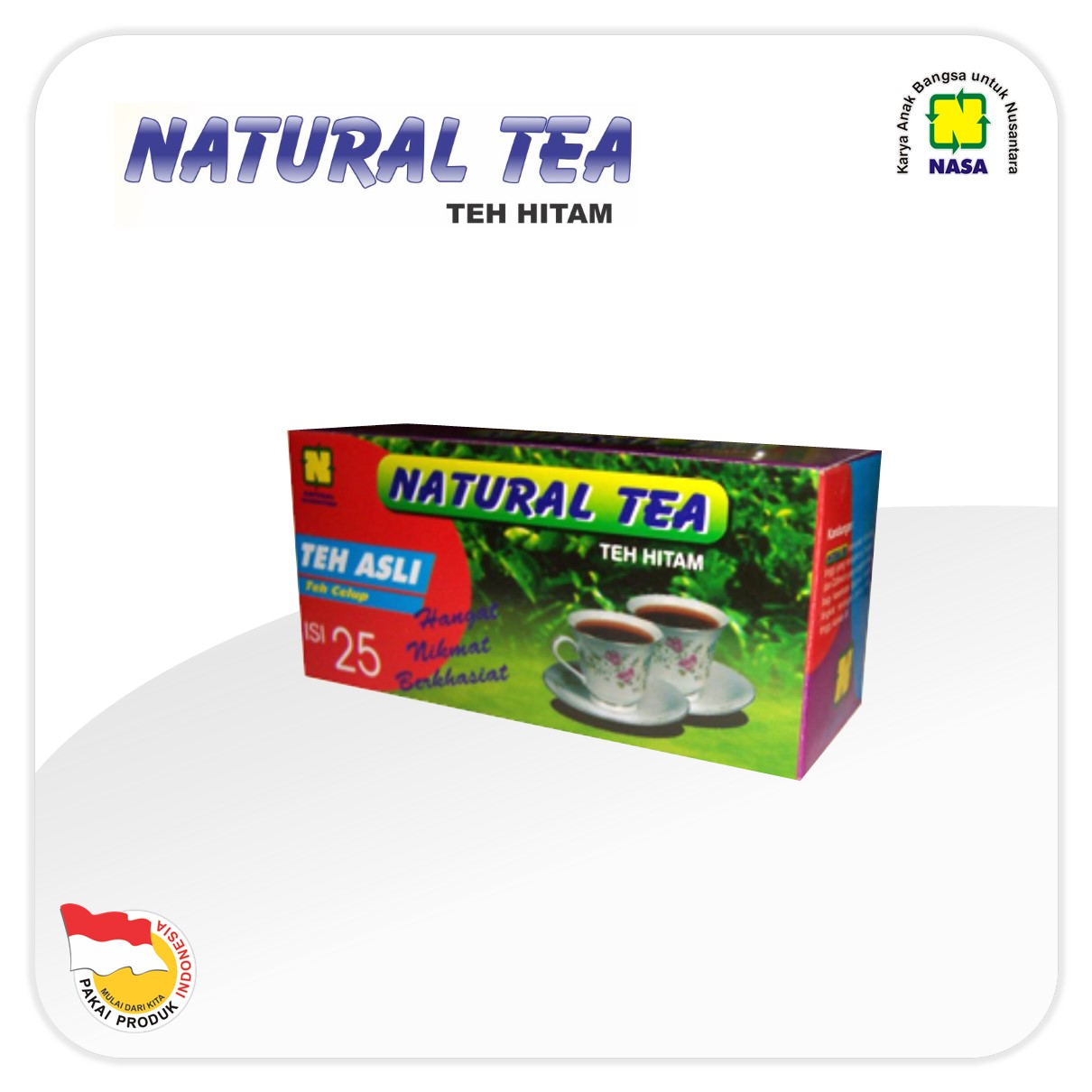 Natural Tea – Teh Hitam Celup Nasa