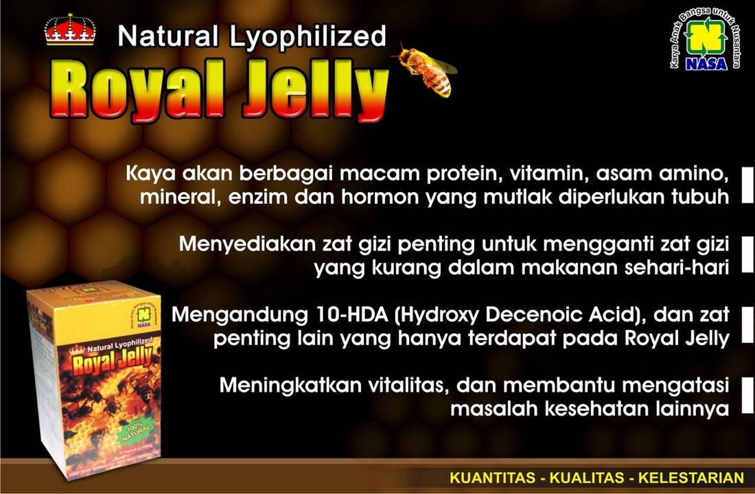 Gambar Natural Royal Jelly Nasa PT Natural Nusantara