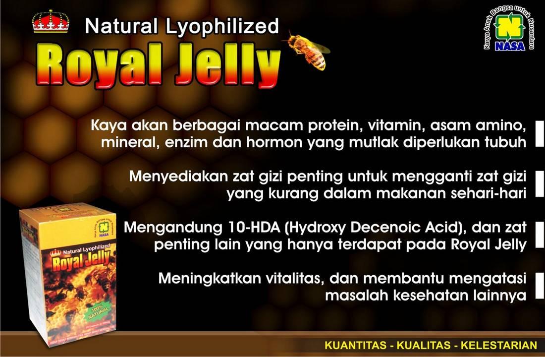 Gambar Natural Royal Jelly Nasa PT Natural Nusantara