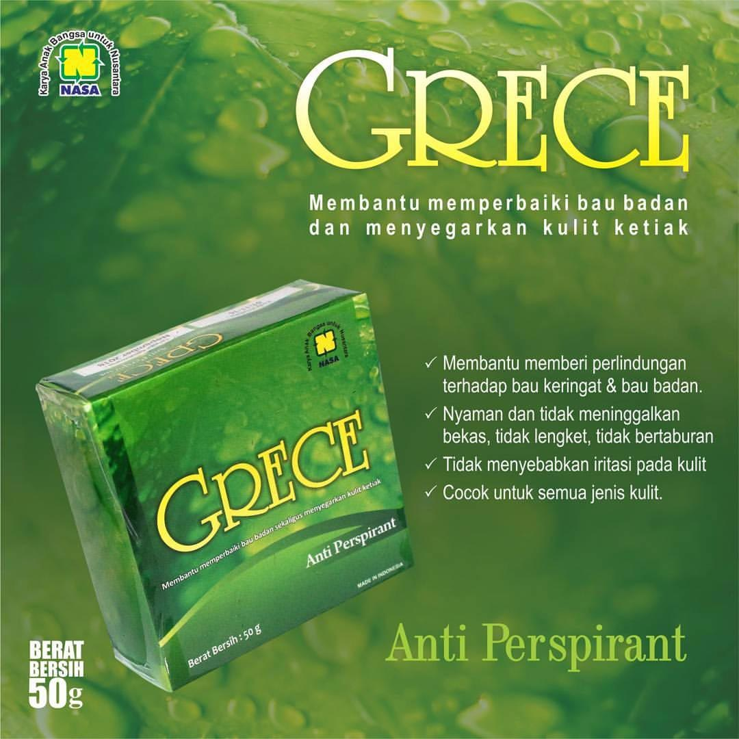 Gambar GRECE Body Crystal Nasa