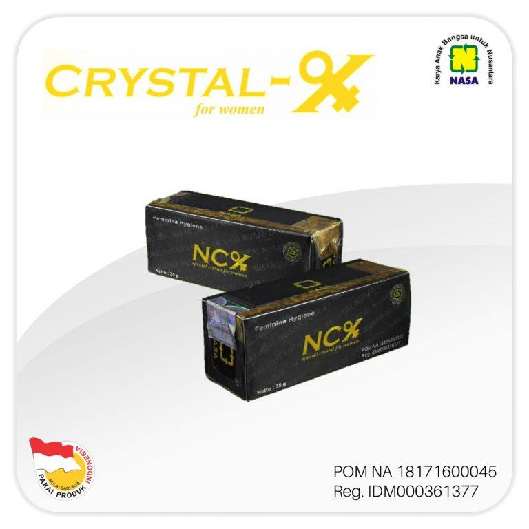 NCX Natural Crystal X NASA