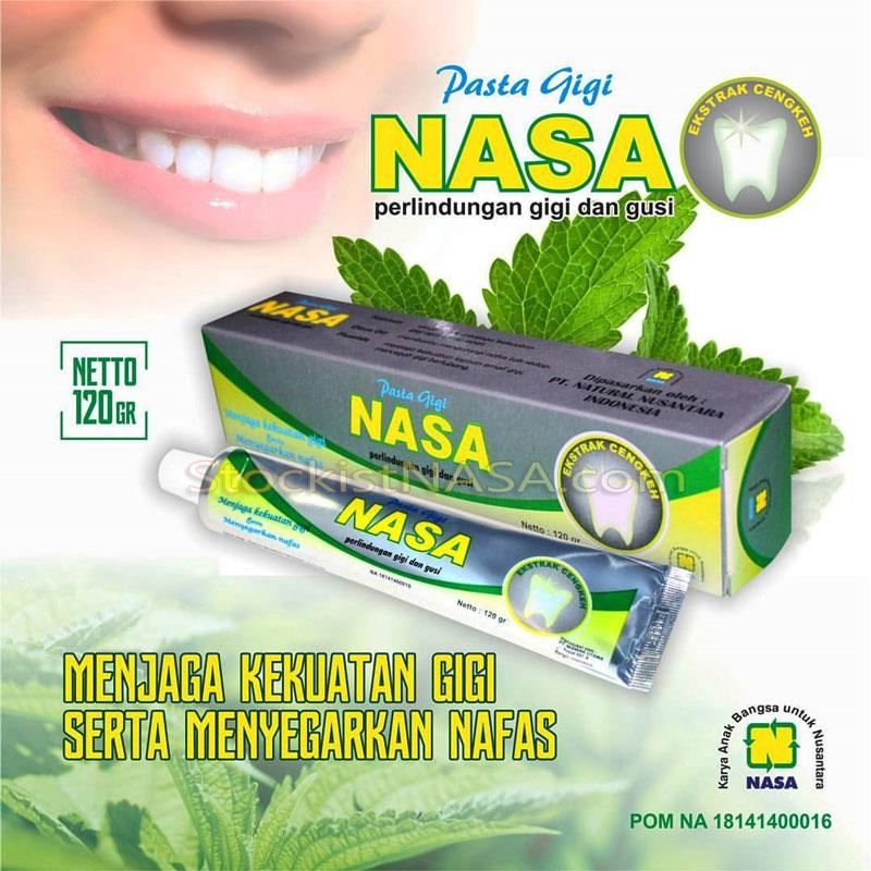 Pasta Gigi Nasa Herbal Alami
