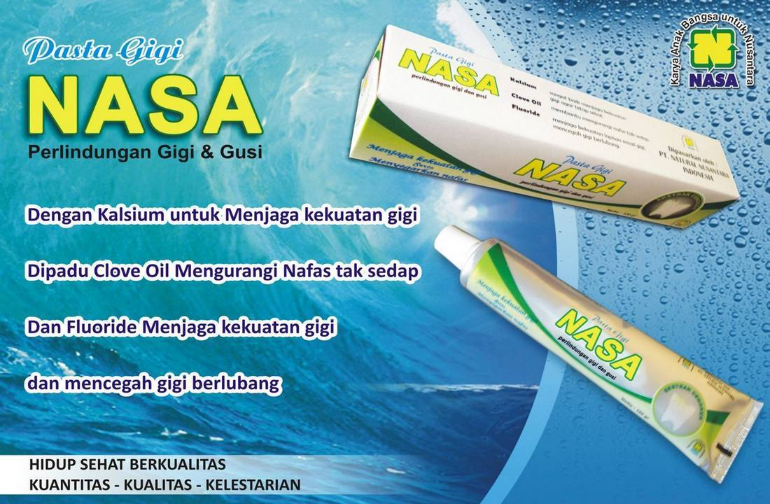 Gambar Pasta Gigi Herbal NASA