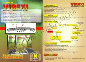 Gambar Brosur Natural VIREXI Nasa