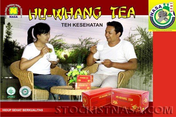 Gambar Brosur Hu Whang Tea Nasa