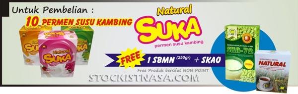 Promo produk Natural SUKA