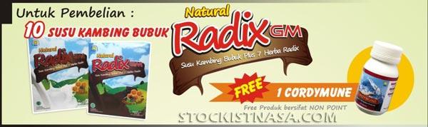 Promo Produk Natural Radix