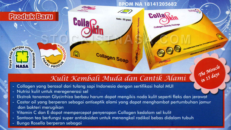 Brosur Collaskin Collagen Nasa