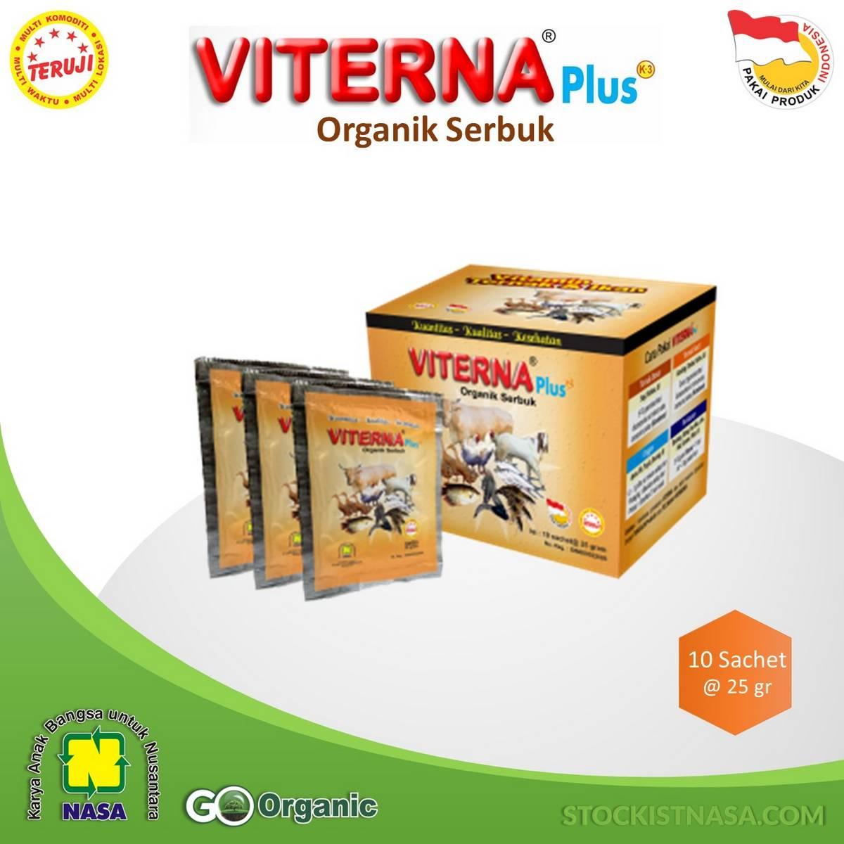VITERNA Plus Organik Serbuk