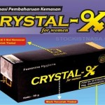Kemasan Baru Natural Crystal X per Mei 2015