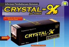Crystal X Asli NASA Mei 2015