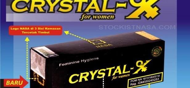 Crystal X Asli NASA Mei 2015