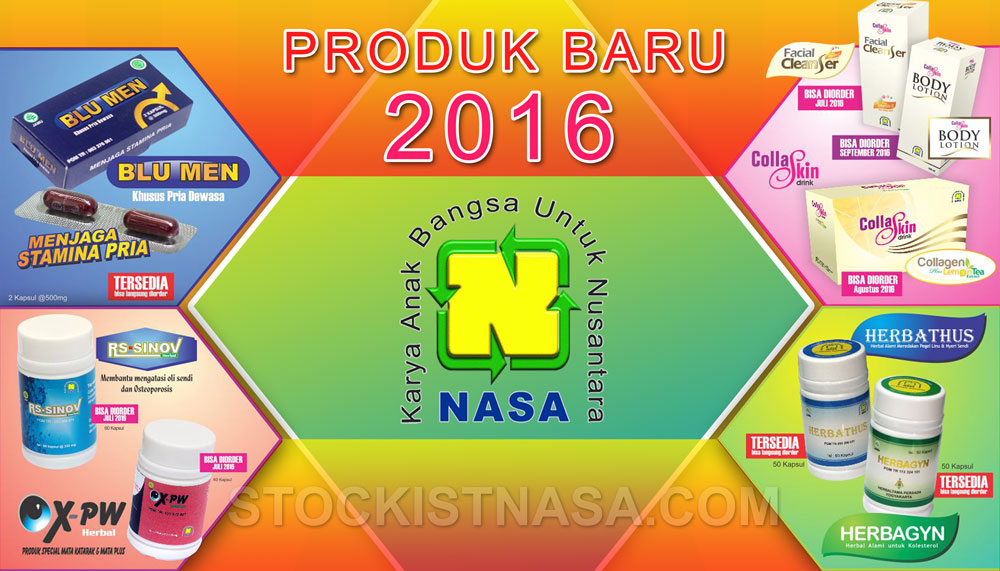 Produk Baru Nasa Tahun 2016