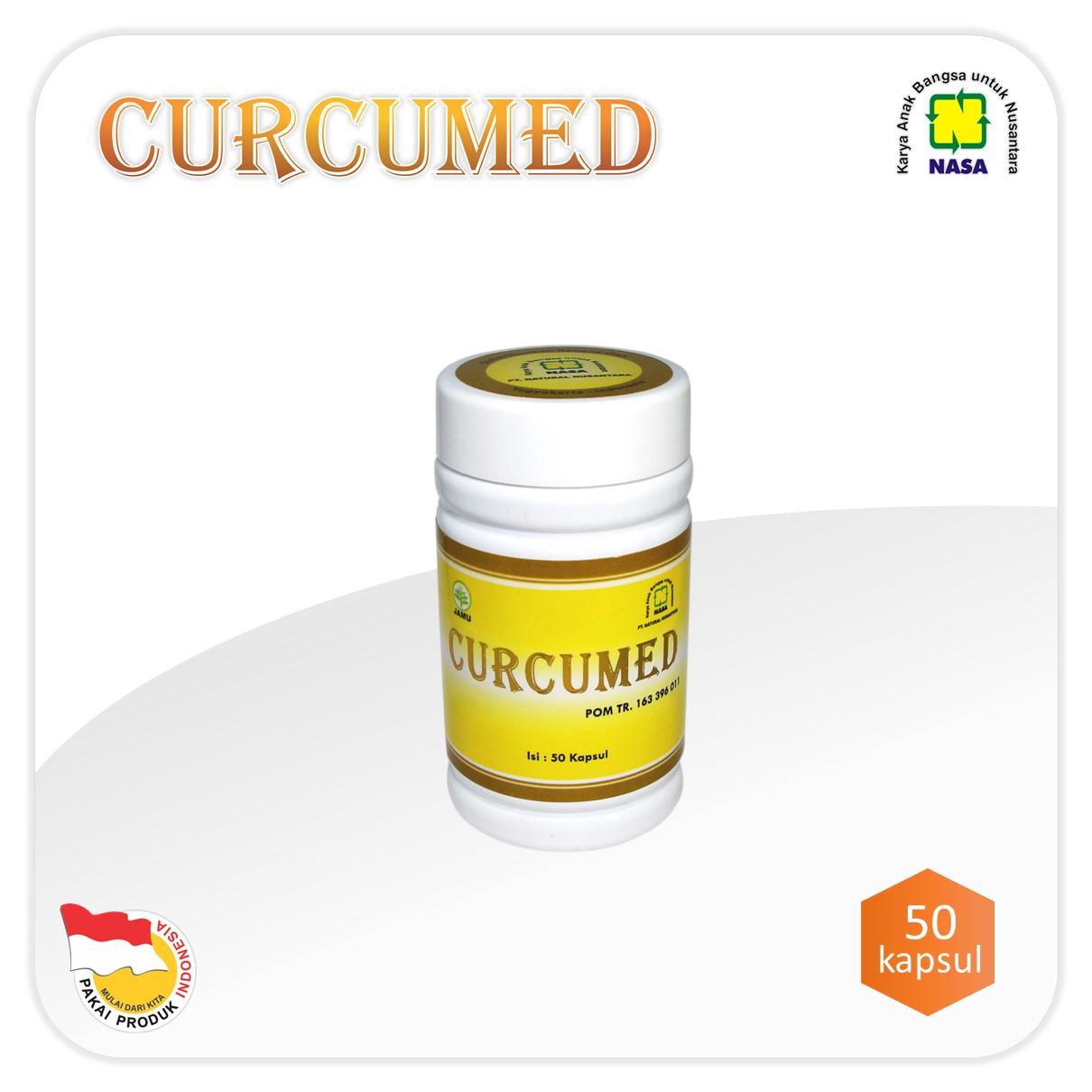 Curcumed Nasa herbal untuk kanker