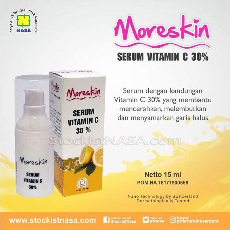 Moreskin Serum Vitamin C Nasa