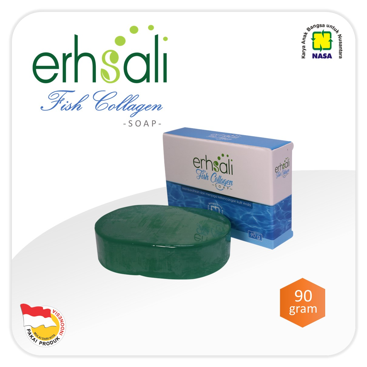 ERHSALI Fish Collagen Soap NASA