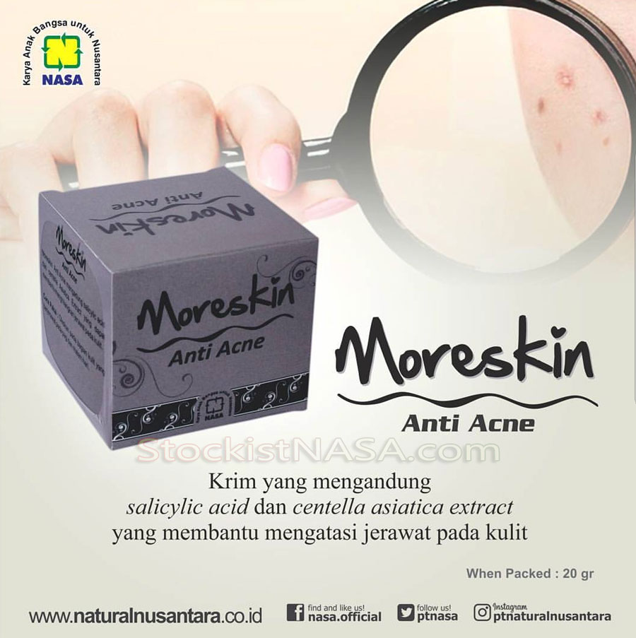 Moreskin Anti Jerawat NASA