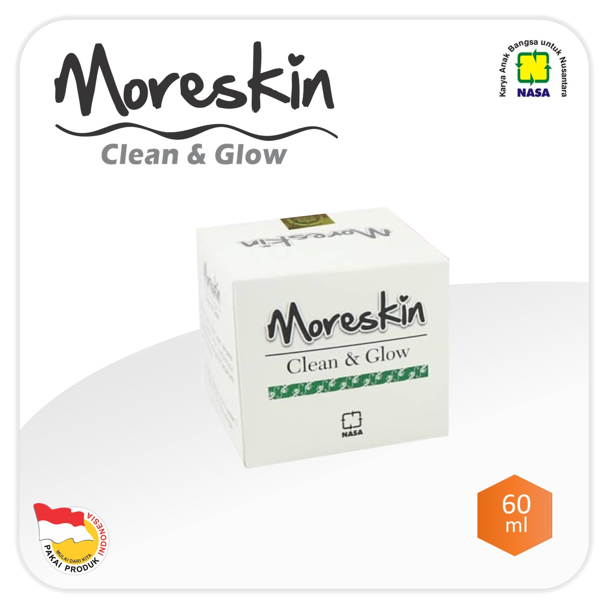Moreskin Clean & Glow Cream