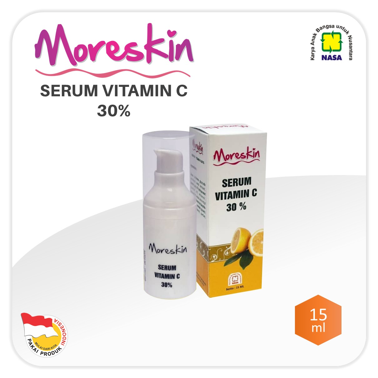 MORESKIN Serum Vitamin C 30% NASA