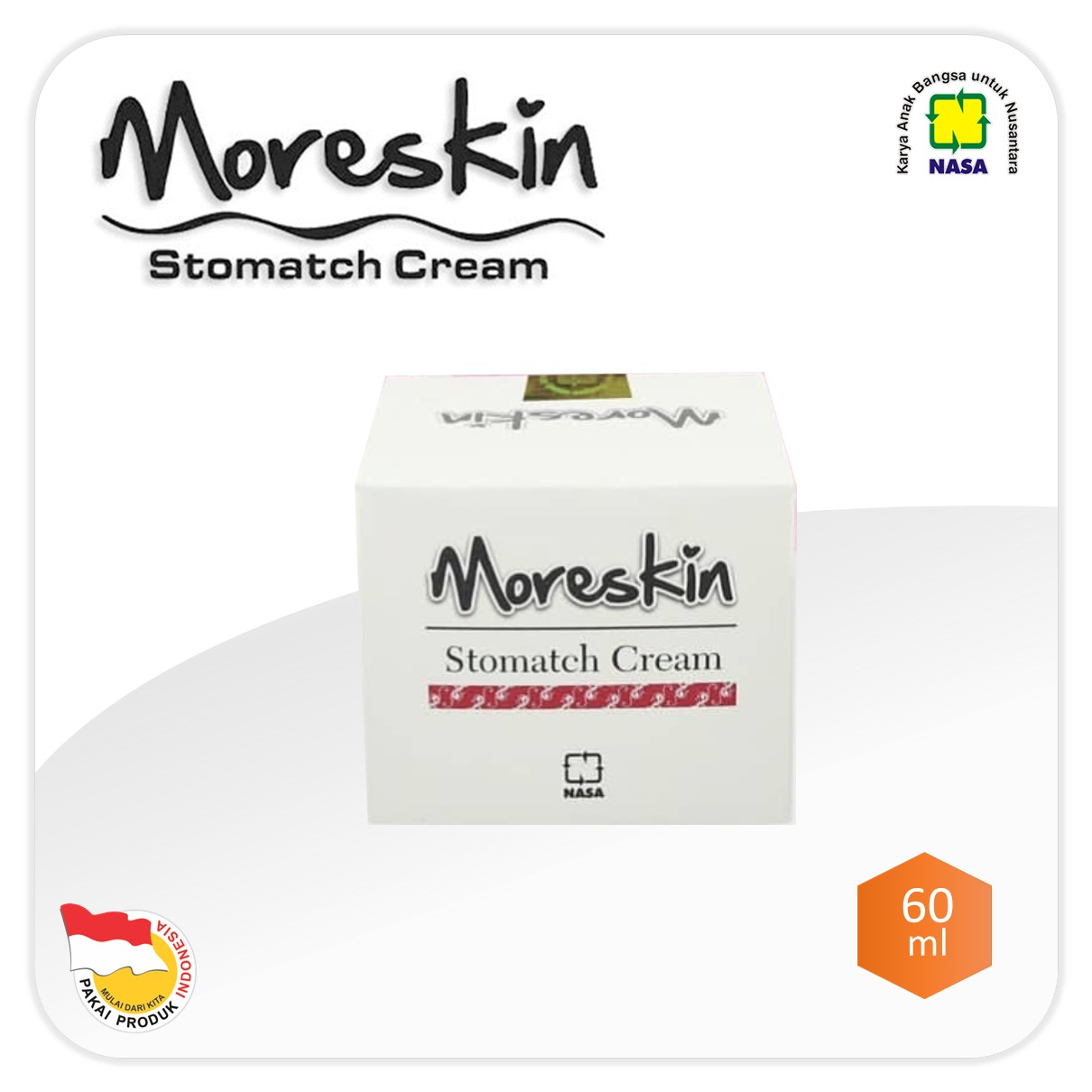 Moreskin Stomatch Cream