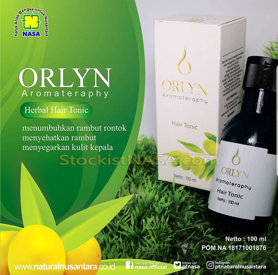 ORLYN Hair Tonic Herbal NASA