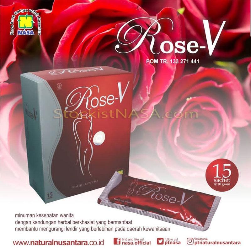 ROSE V Minuman Kesehatan Khusus Wanita