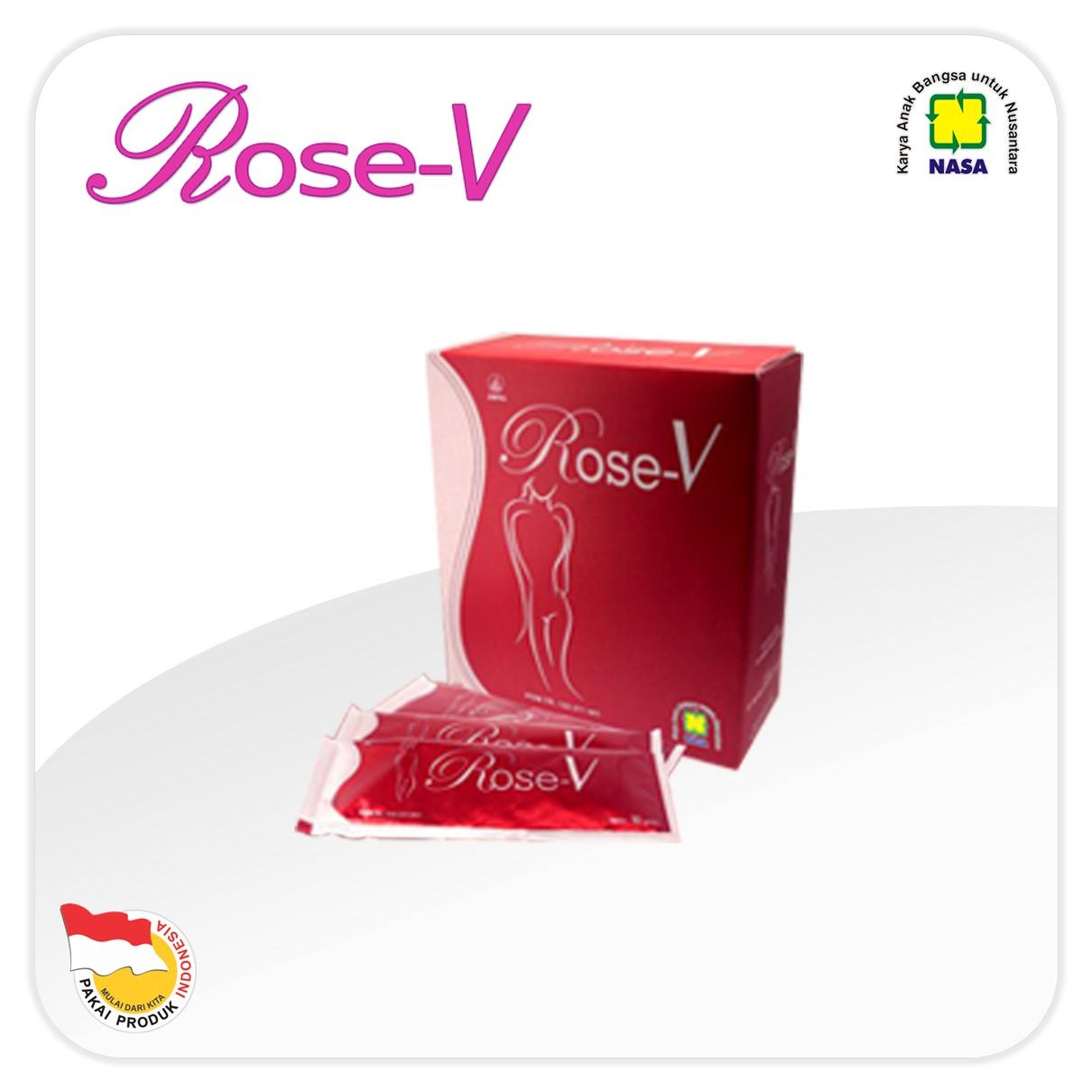 ROSE-V Minuman Kesehatan Wanita NASA