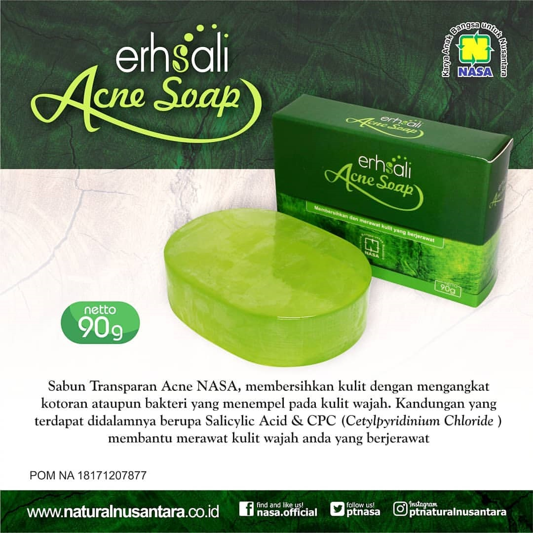 Gambar Erhsali Anti Acne Soap Nasa