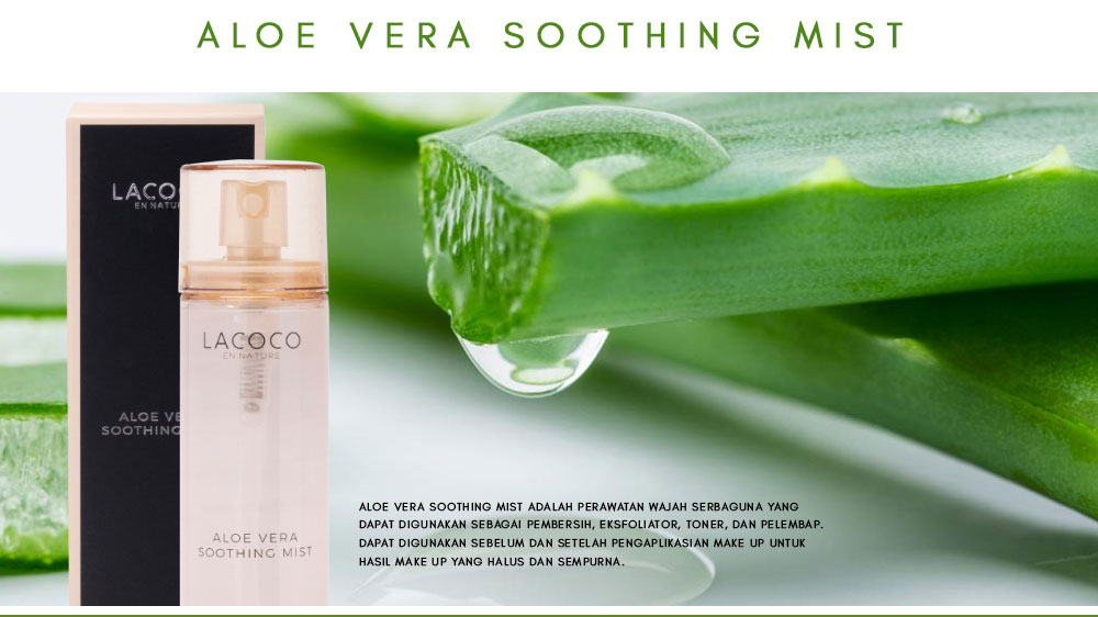 Apa Itu Lacoco Aloe Vera Soothing Mist
