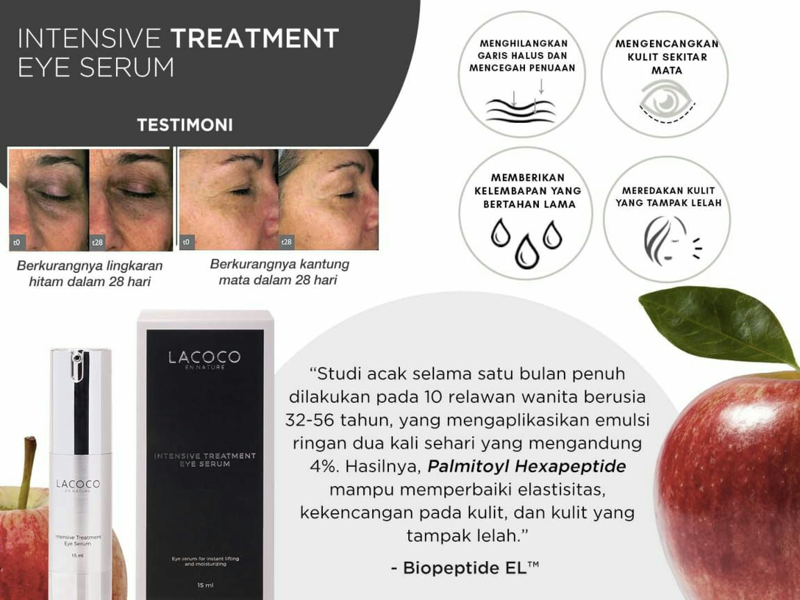 Testimoni  Lacoco Treatment Eye Serum