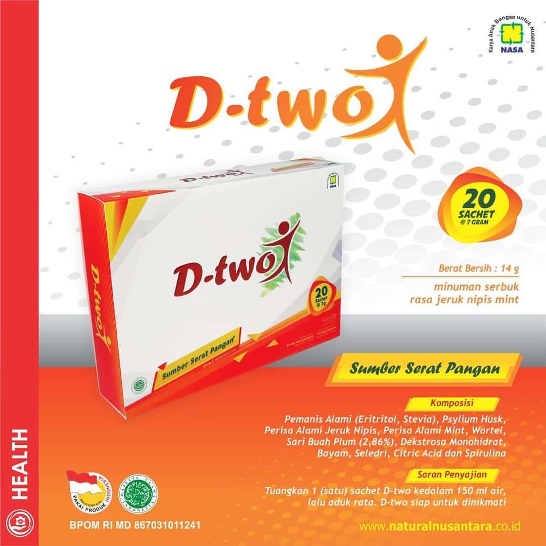 Brosur DTwo Nasa Herbal