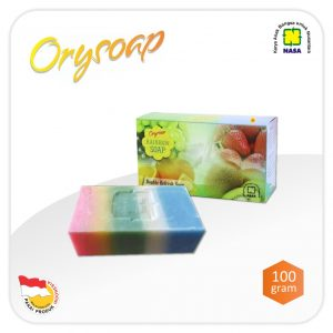 Sabun ORYSOAP Rainbow Soap NASA