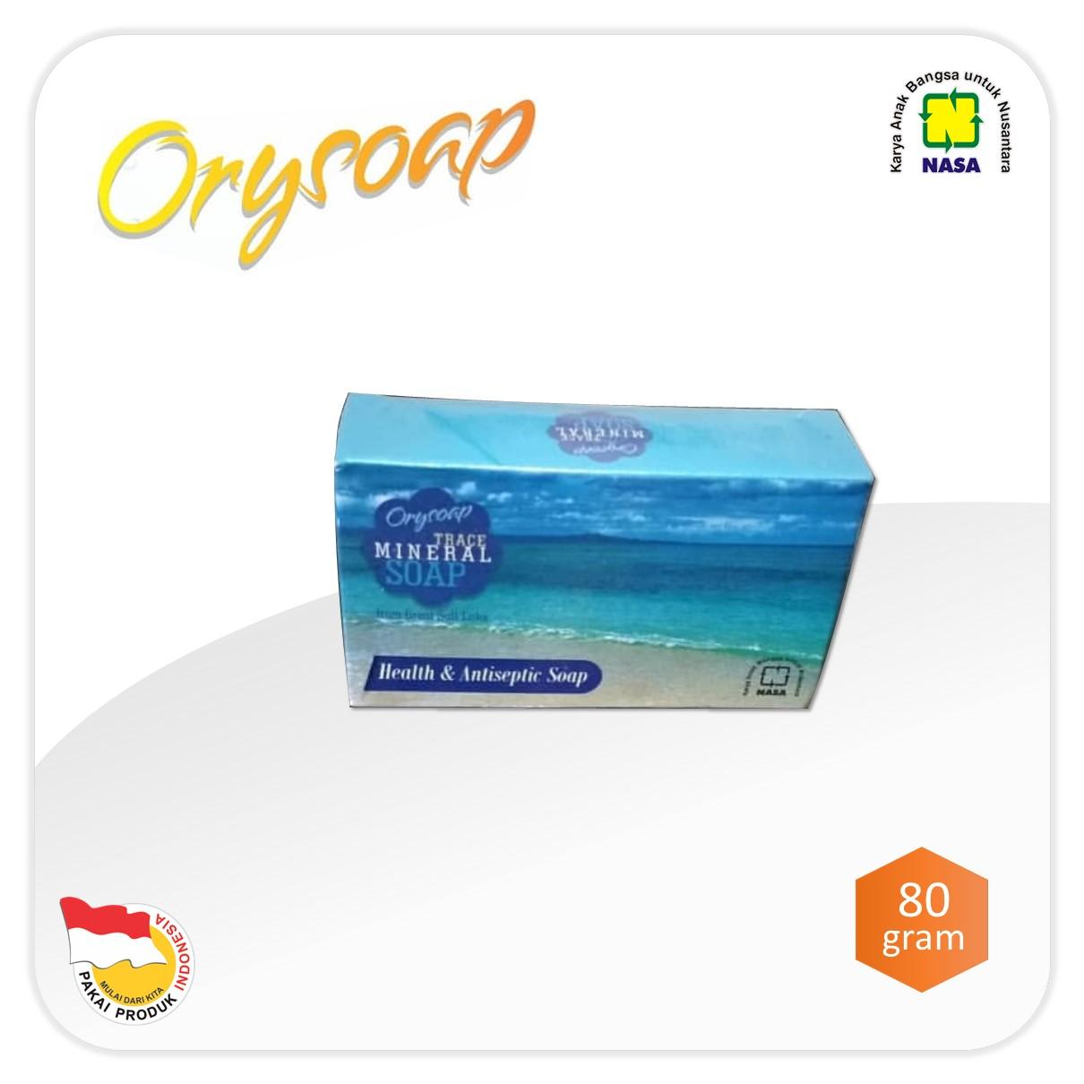 Sabun Trace Mineral Soap NASA