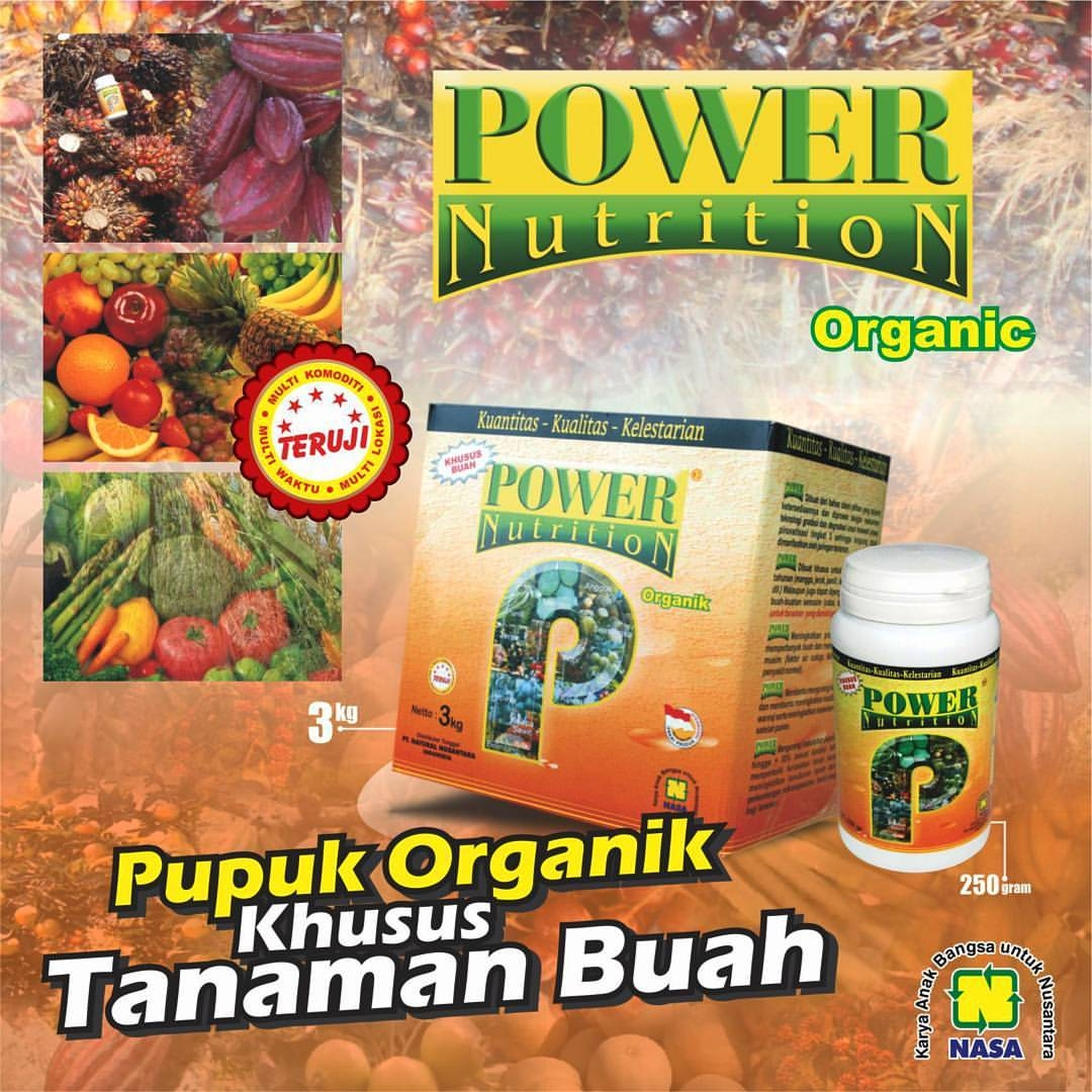 Power Nutrition Pupuk Buah Nasa