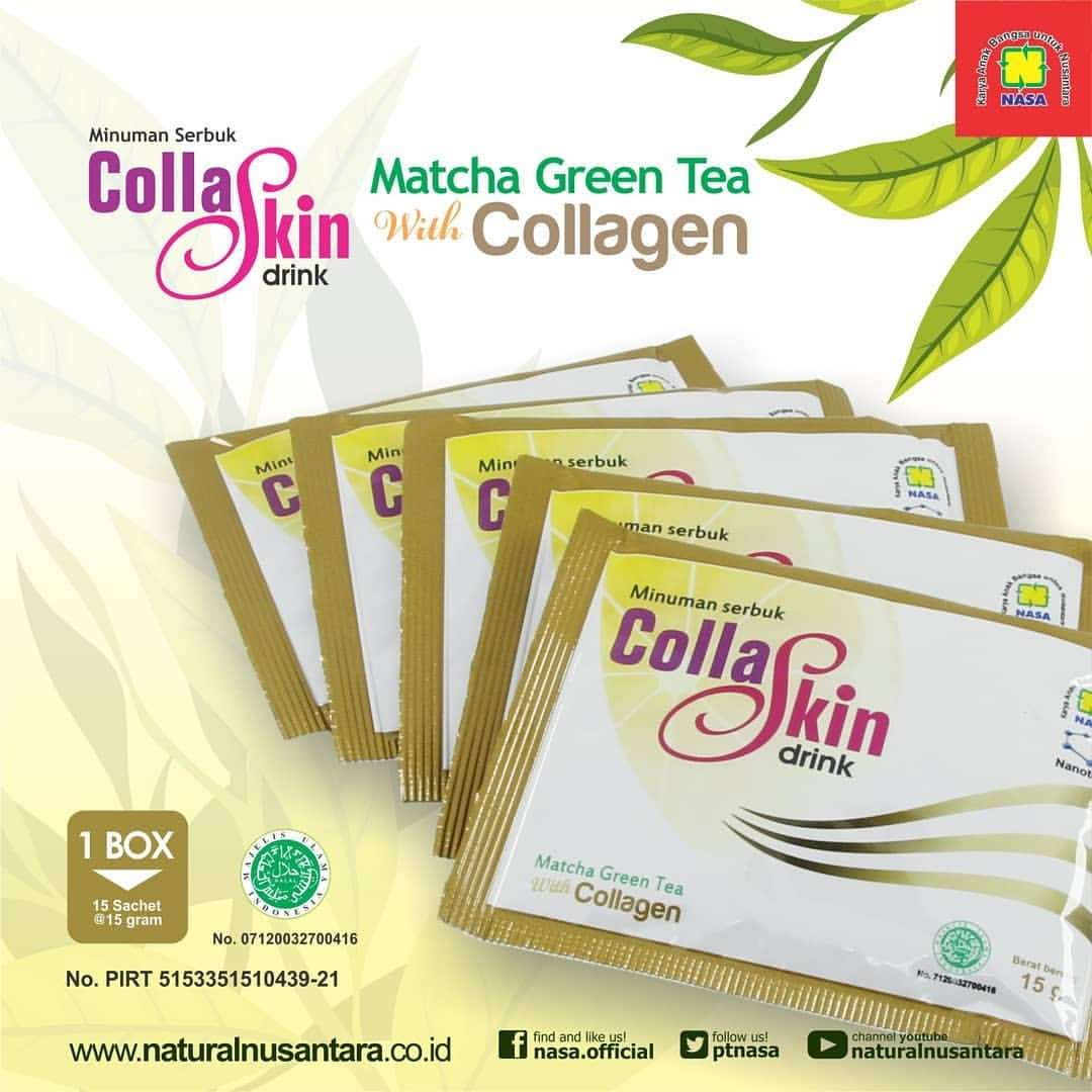 Collagen Drink Matcha Nasa