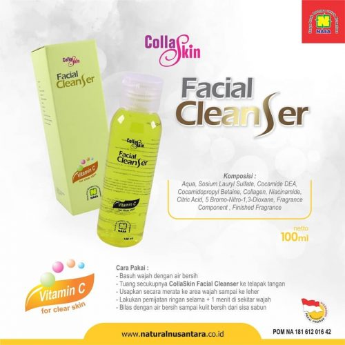 Collagen Facial Cleanser Nasa