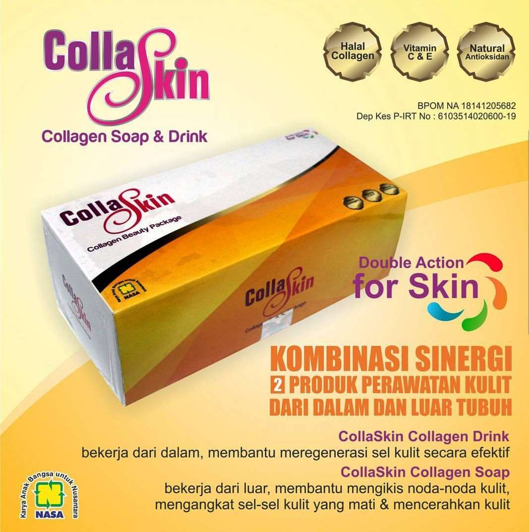 Collaskin Paket Kolagen Soap & Drink