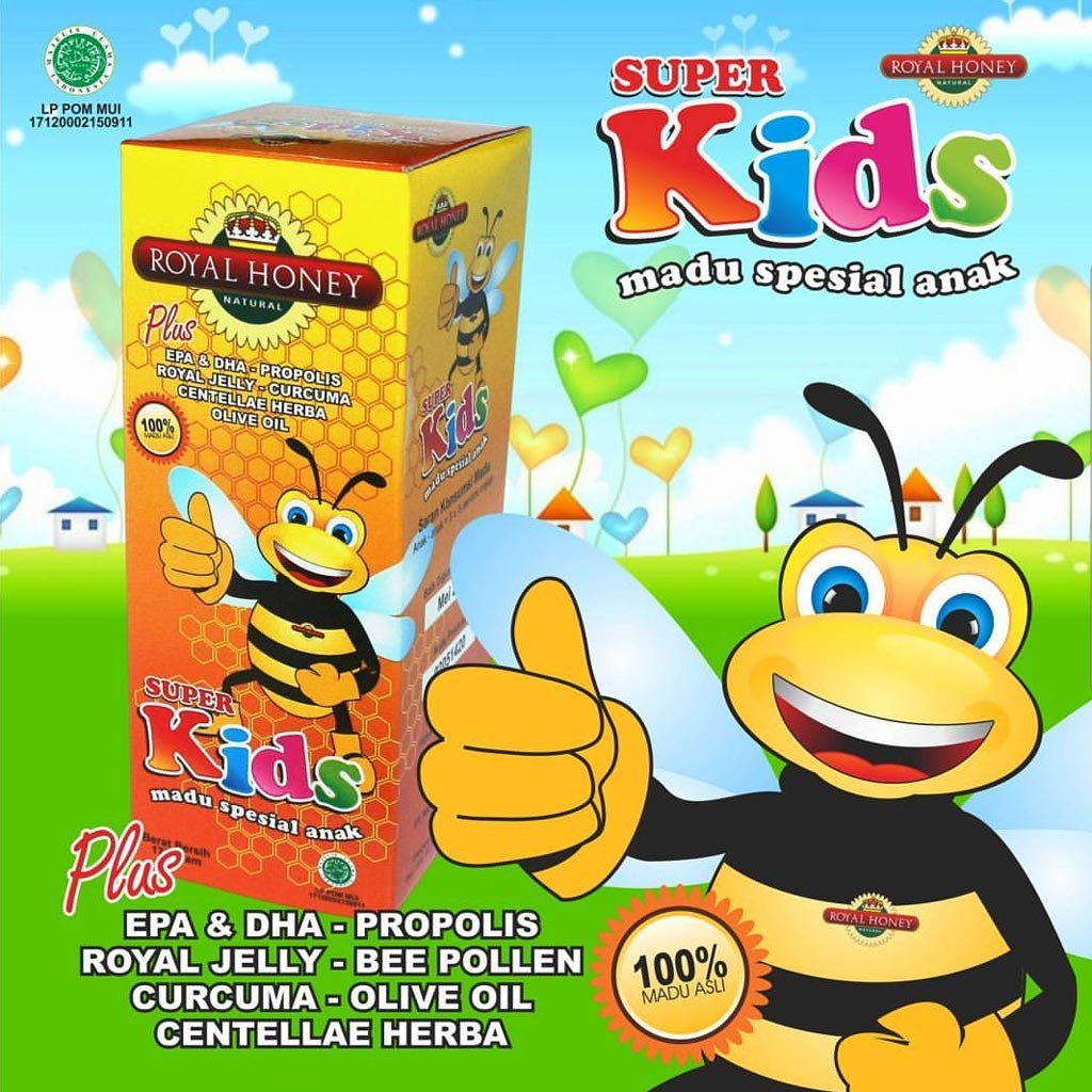 Madu Anak Super Kids NASA