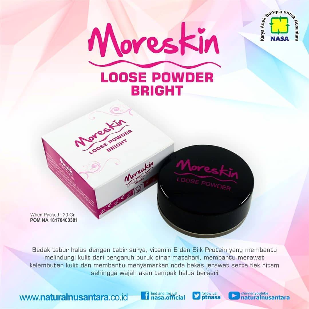 Gambar Moreskin Loose Powder Bright NASA