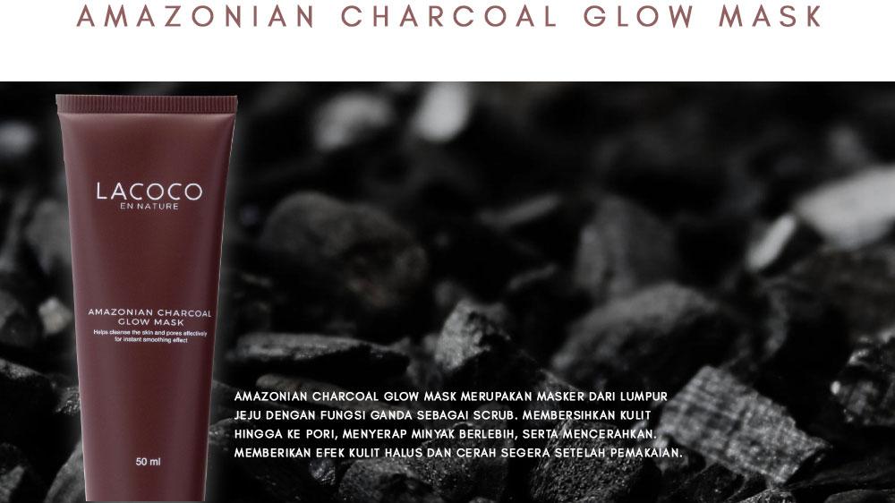 Apa Itu Lacoco Amazonian Charcoal Glow Mask