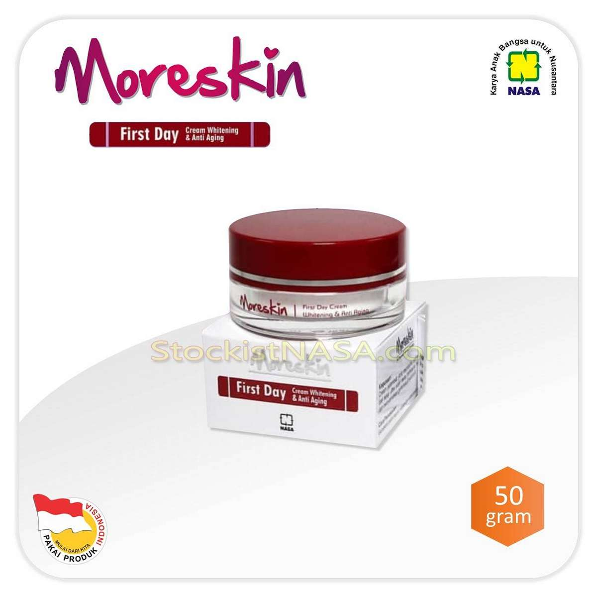 MORESKIN First Day Cream Anti Aging